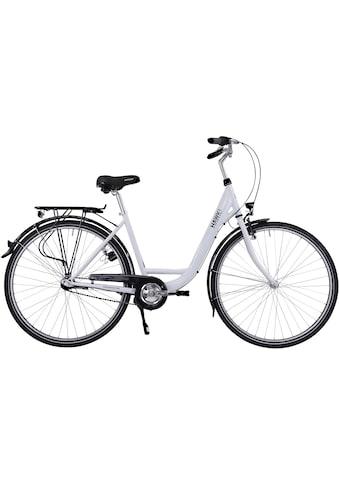 HAWK Bikes Cityrad »HAWK City Wave Premium White«, 3 Gang, Shimano, Nexus Schaltwerk kaufen