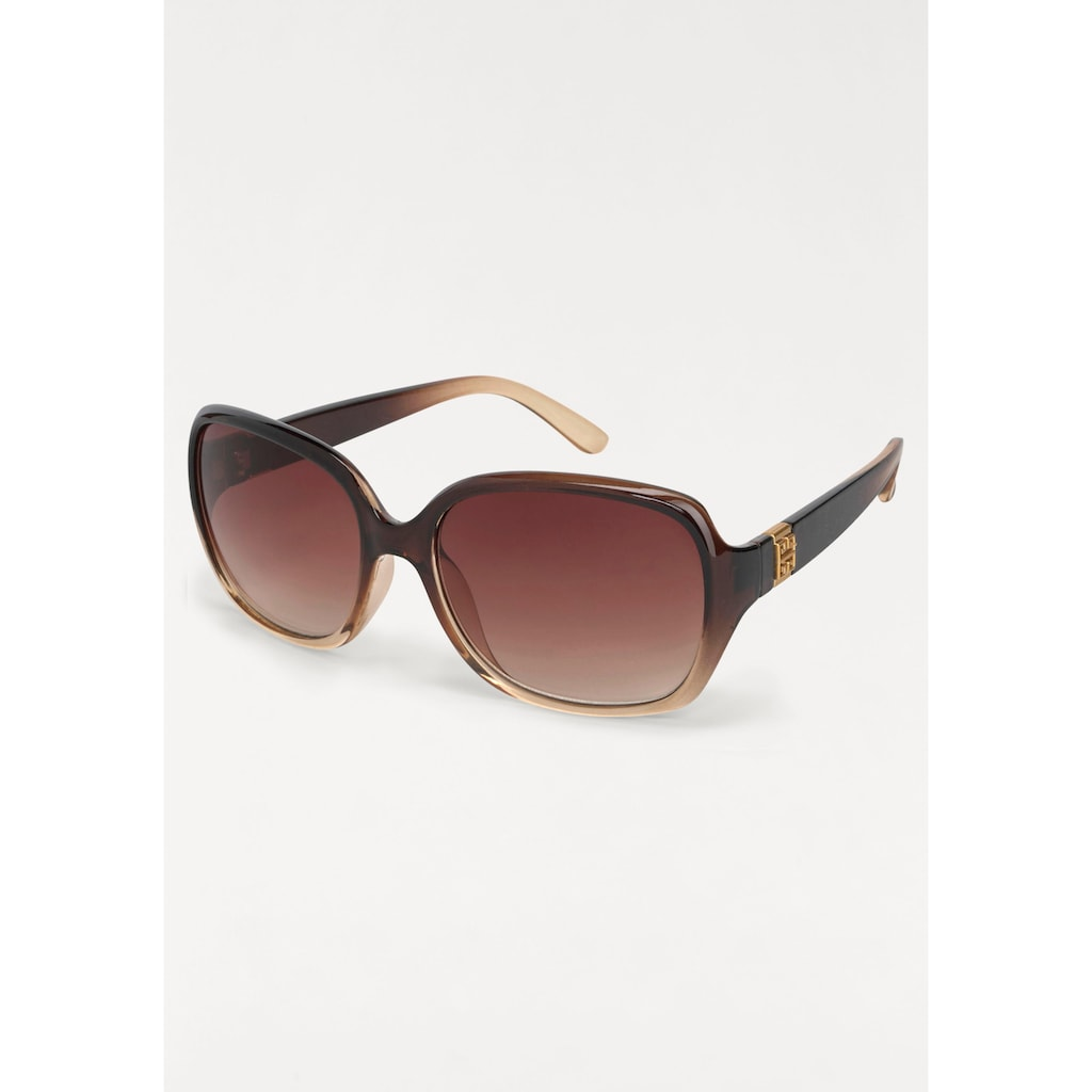 J.Jayz Sonnenbrille, Oversize Look, Retro Style
