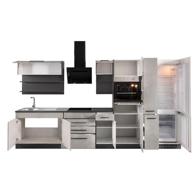 HELD MÖBEL Küchenzeile »Tulsa«, mit E-Geräten, Breite 360 cm