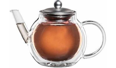 Bloomix Teekanne »Aronia«, 0,7 l, mundgeblasen, hitzebeständiges Borosilikatglas,... kaufen