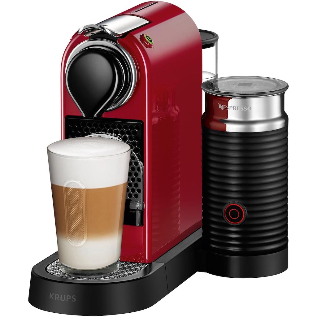 Nespresso Kapselmaschine »XN7615 New CitiZ & milk«, mit Aeroccino Milchaufschäumer