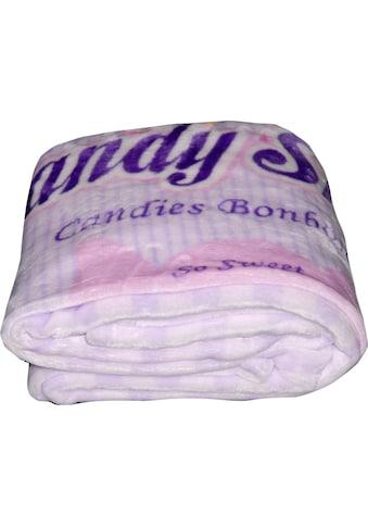 Gold-Line Wohndecke »Candy Shop«, im gemütlichen 50s Style kaufen