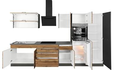 HELD MÖBEL Küchenzeile »Trier«, mit E-Geräten, Breite 340 cm kaufen
