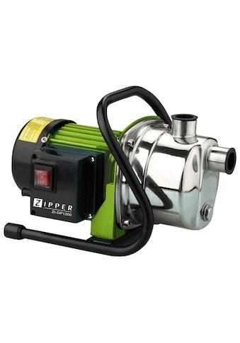 ZIPPER Gartenpumpe »ZI - GP1200«, 3.800 l/h Fördermenge kaufen