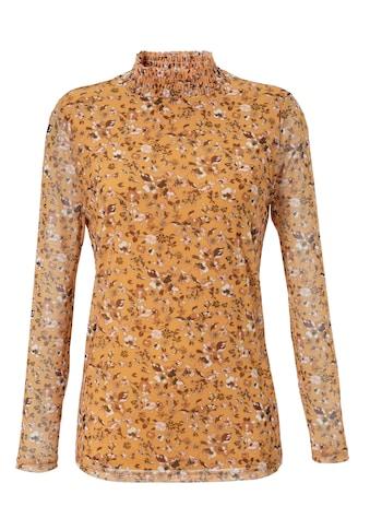 Aniston SELECTED Langarmshirt, aus Mesh - NEUE KOLLEKTION kaufen