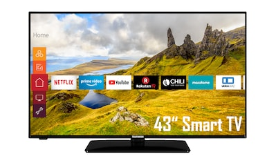 Telefunken D43F551N1CW LED - Fernseher (108 cm / (43 Zoll), Full HD, Smart - TV kaufen