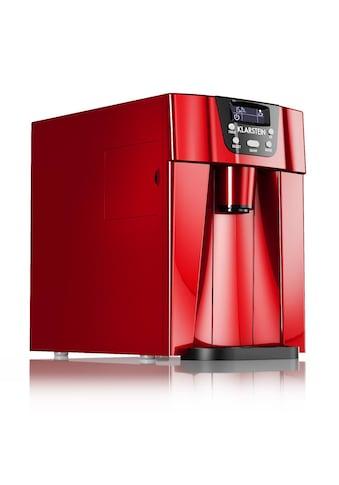 Klarstein Eismaschine Eiswürfelmaschine Ice Maker Eiswürfelbereiter 12kg/T kaufen