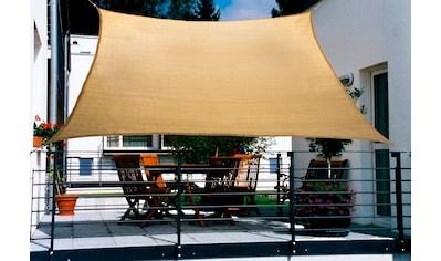 FLORACORD Sonnensegel , BxL: 270x140 cm, weizenfarben kaufen