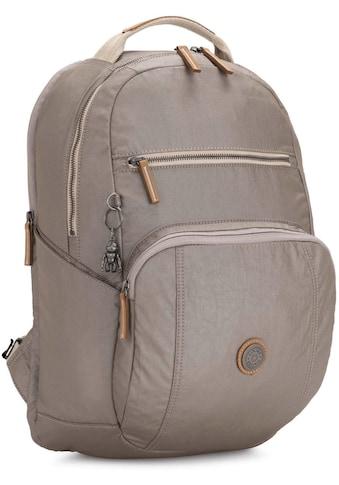 KIPLING Laptoprucksack »Troy Extra, Fungi Metal«, mit abnehmbarer Brusttasche kaufen