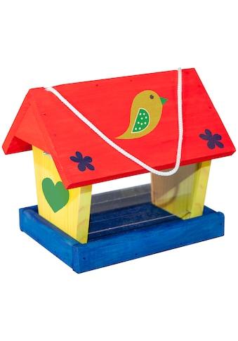 Windhager Vogelhaus »Woodpecker«, Bausatz inkl. Farbset zum Bemalen kaufen
