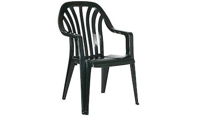 BEST Gartenstuhl »Laredo«, (4er Set), Kunststoff, stapelbar, grün kaufen