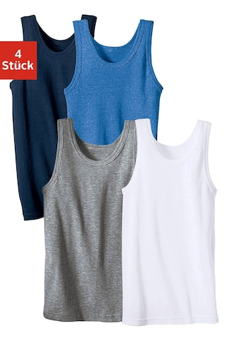 Unterhemd, schlichtes Basic aus Feinripp kaufen
