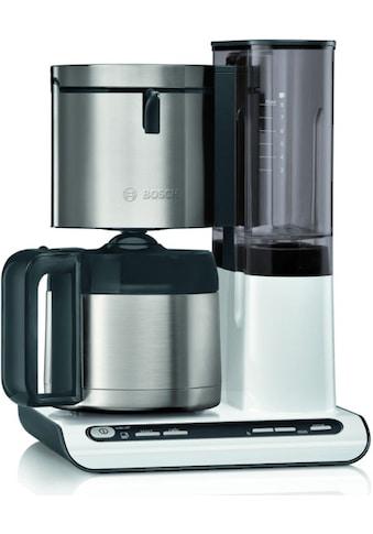 BOSCH Filterkaffeemaschine »TKA8A681 Styline«, Papierfilter, 1x4, mit Thermokanne kaufen