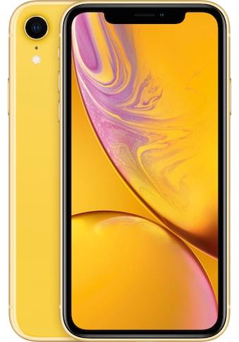 """Apple Smartphone »iPhone XR 6,1"""" 128 GB«, (15,5 cm/6,1 """", 128 GB Speicherplatz, 12 MP... kaufen"""