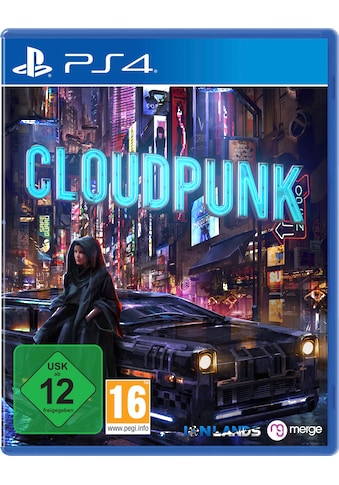 PlayStation 4 Spiel »Cloudpunk«, PlayStation 4 kaufen