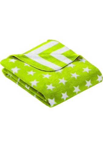Goldmond Wohndecke »Stars & Stripes«, in Stern- und Streifenoptik kaufen