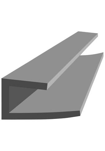BAUKULIT Set: Abschlussprofil »Fine - Line B2«, U - Abschlussprofil, 2er - Set à 260 cm kaufen