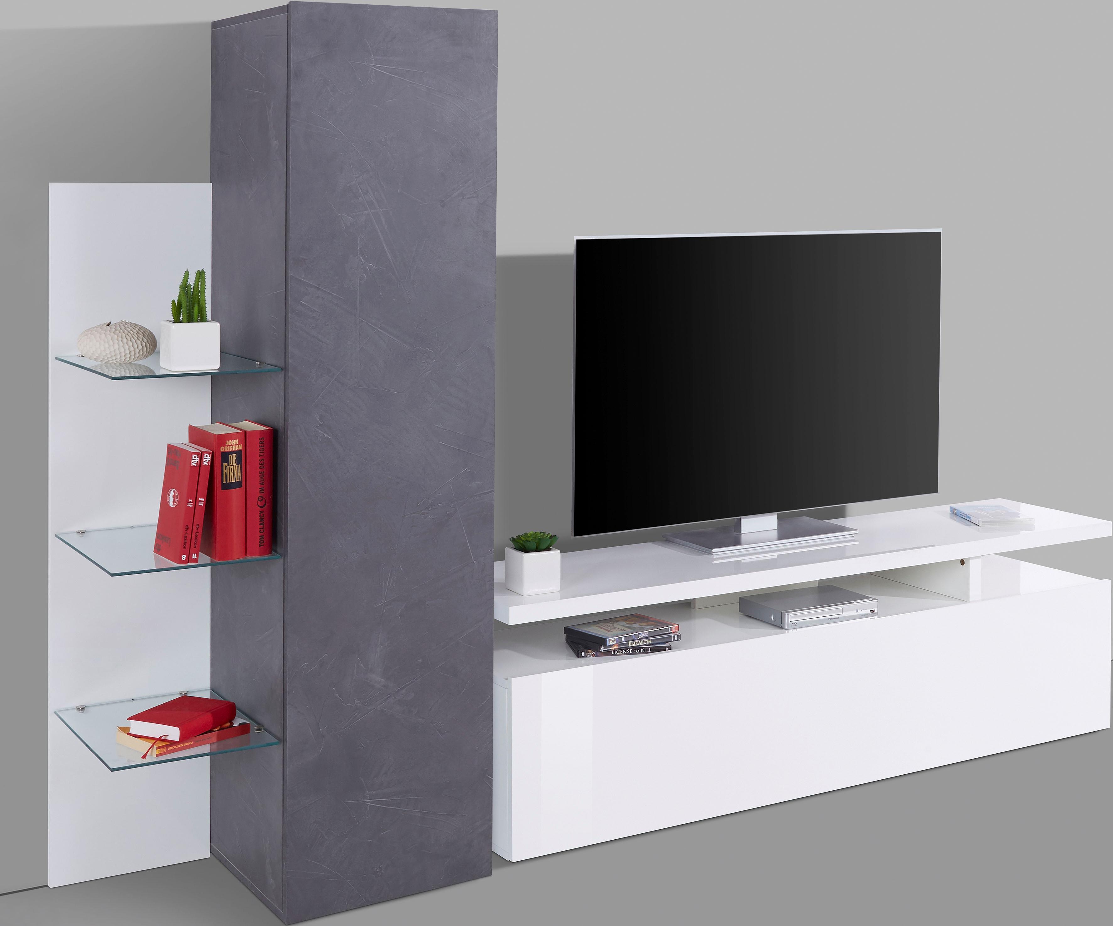 Tecnos TV-Wand »Trasimeno«, Breite 230 cm