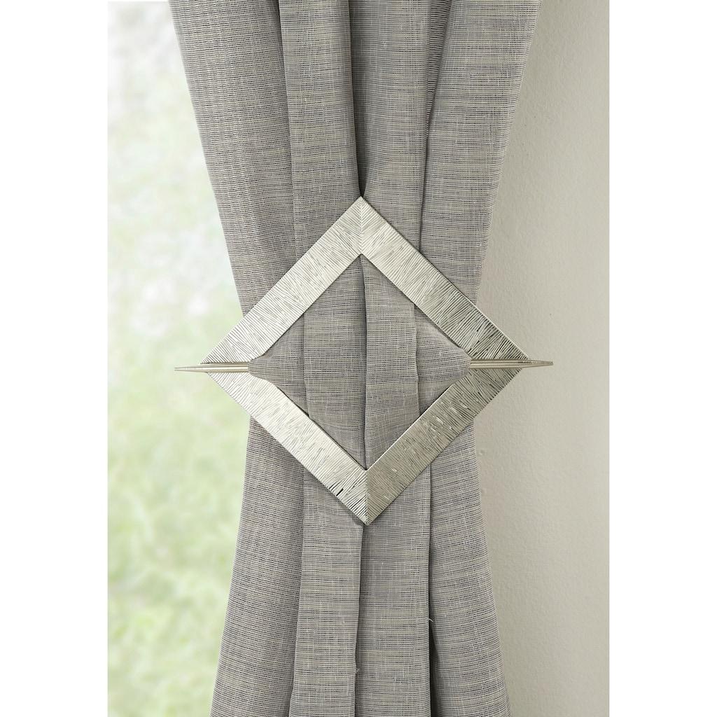 Dekospange »Dekospange mit Stab Uranus«, GARDINIA, passend für Gardinen Vorhänge