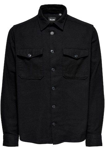 ONLY & SONS Flanellhemd »MILO LIFE SOLID OVERSHIRT« kaufen