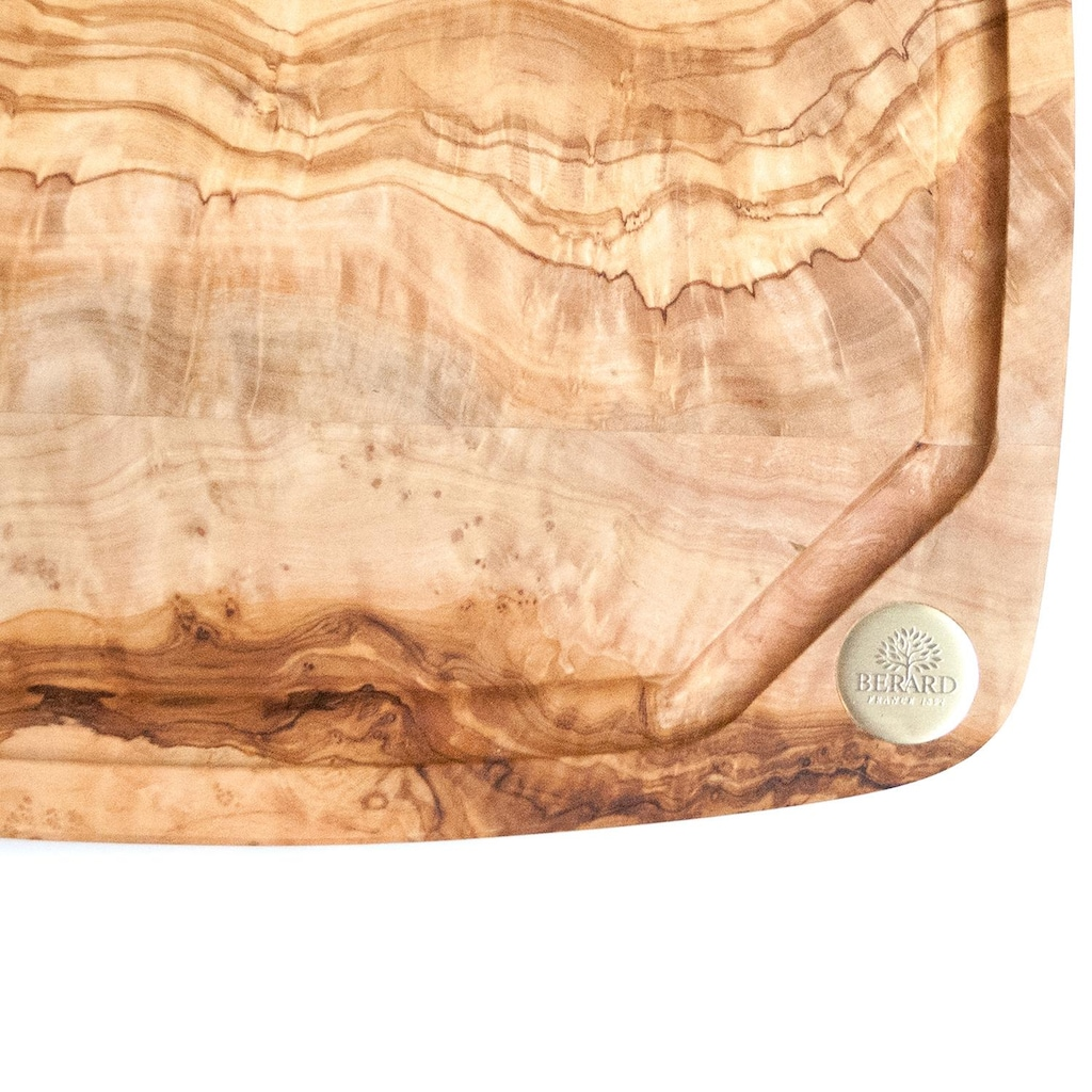 BERARD FRANCE 1892 Schneidebrett »Nero«, in natürlicher Holzoptik