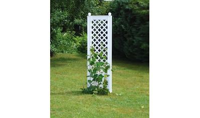 KHW Spalier, BxTxH: 43x6x140 cm, weiß kaufen