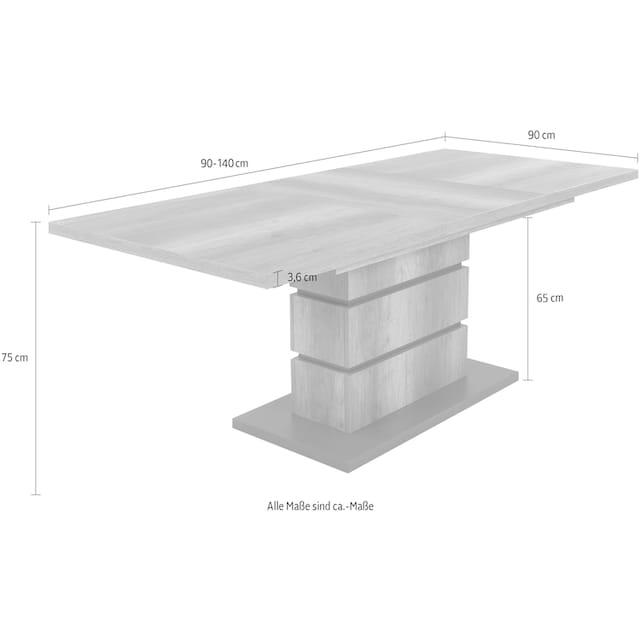 Homexperts Säulen-Esstisch »Bonnie«
