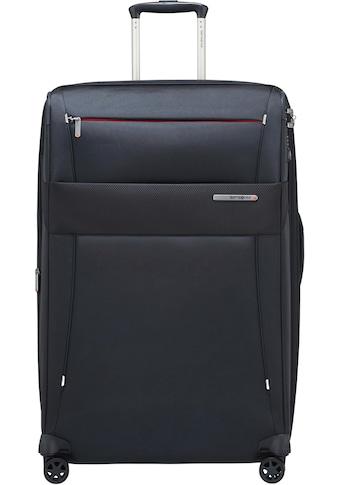 Samsonite Weichgepäck-Trolley »Duopack, 78 cm, navy blue«, 4 Rollen kaufen