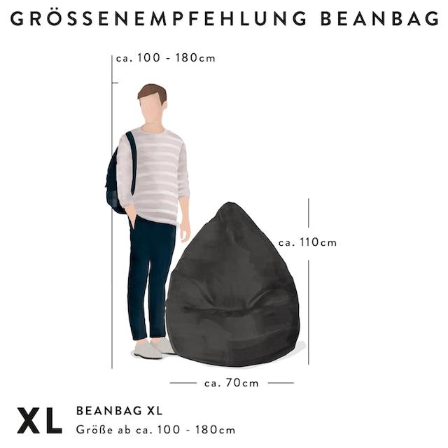 Sitting Point Sitzsack »BeanBag Cordone XL« (1 Stück)