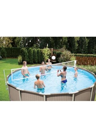 SummerWaves Volleyballnetz, (Set), inkl. Ball, für Pools 305-610 cm kaufen