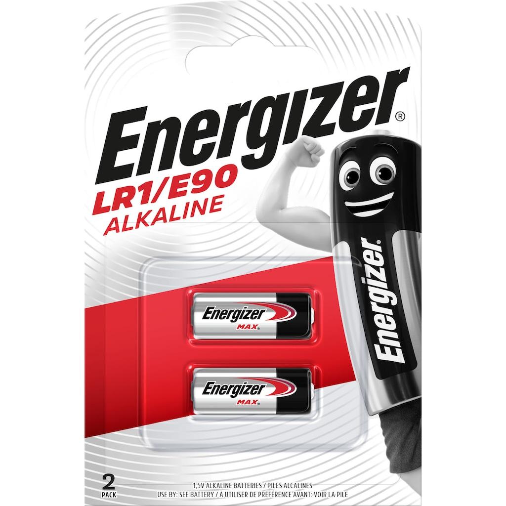 Energizer Batterie »Alkali Mangan LR1/E90 2 Stück«, 1,5 V