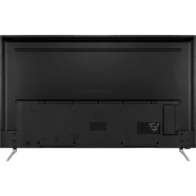 Telefunken D65V800M4CWH LED-Fernseher (164 cm / (65 Zoll), 4K Ultra HD, Smart-TV