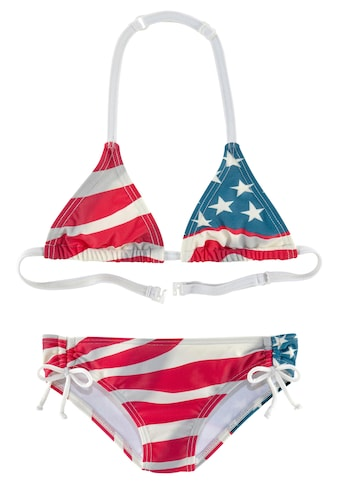 Homeboy Triangel-Bikini, im Design der USA-Flagge kaufen