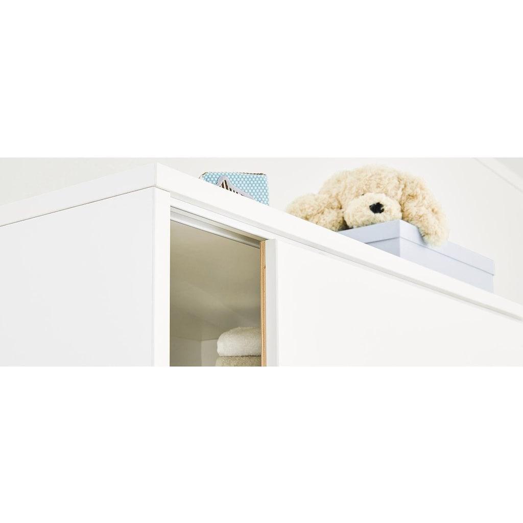 Pinolino® Babyzimmer-Komplettset »Move«, (Set, 3 St.), breit groß; mit Kinderbett, Schrank und Wickelkommode; Made in Europe