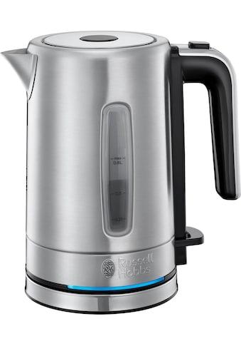 RUSSELL HOBBS Wasserkocher, Compact Home Mini 24190 - 70, 0,8 l, 2200 Watt, energiesparend, 0,8 Liter, 2200 Watt kaufen