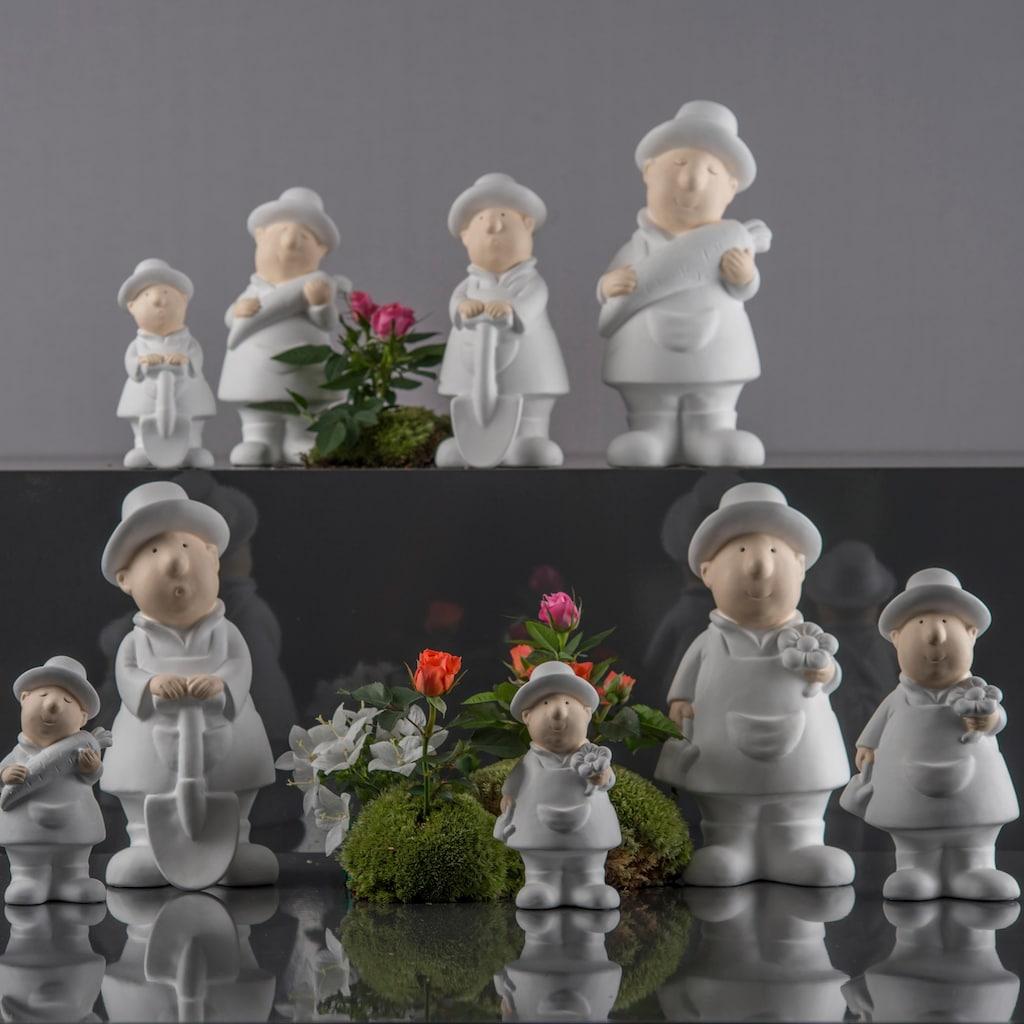 VALENTINO Wohnideen Dekofigur »Gärtner Fritz« (Set, 3 Stück)