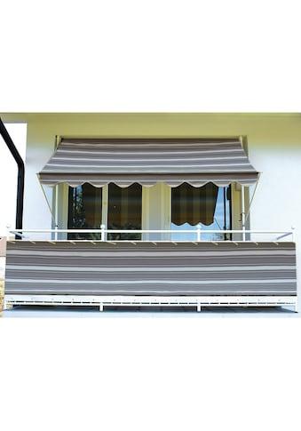 Angerer Freizeitmöbel Balkonsichtschutz, Meterware, anthrazit/grau, H: 90 cm kaufen