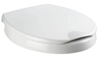 WENKO WC - Sitz »Secura Comfort«, mit 5 cm Sitzflächenerhöhung und Absenkautomatik kaufen