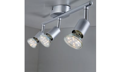 B.K.Licht LED Deckenspots, GU10, Warmweiß, LED Deckenleuchte inkl. 3 x 3W GU10 250... kaufen