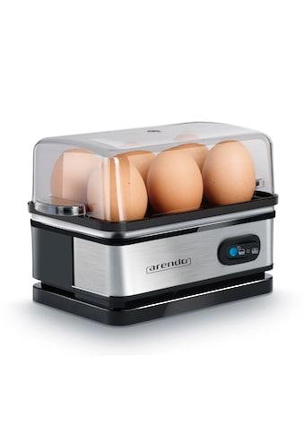 Arendo Eierkocher mit Warmhaltefunktion für 6 Eier kaufen