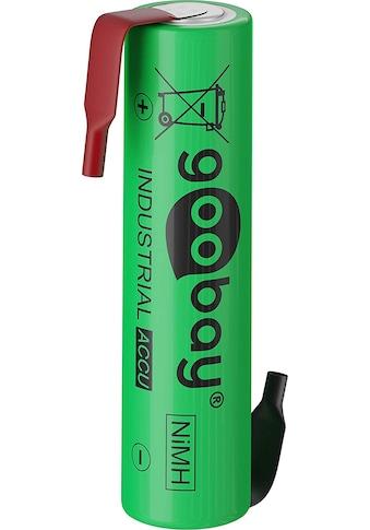 Goobay Batterie »Lötfahne (Z), LSD-NiMH Akku (Ready-to-Use), 1,2 V«, 1x AAA (Micro) -... kaufen