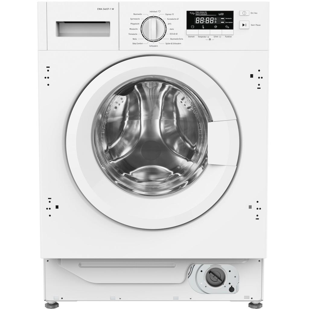 Amica Einbauwaschmaschine »EWA 34657-1 W«, EWA 34657-1 W, 8 kg, 1400 U/min