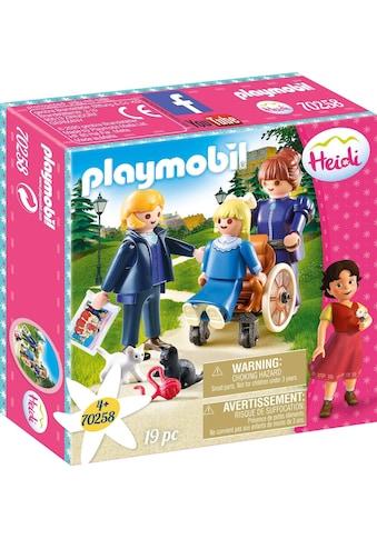 Playmobil® Konstruktions-Spielset »Clara mit Vater und Fräulein Rottenmeier (70258), Heidi«, Made in Europe kaufen