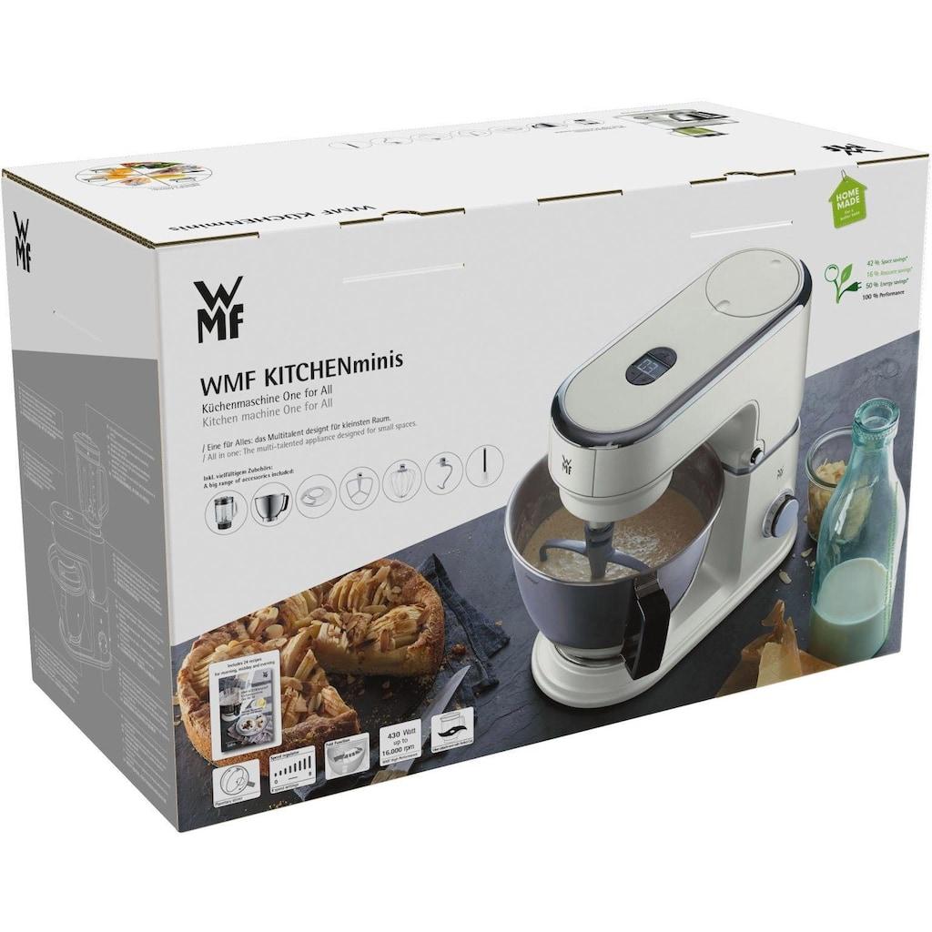 WMF Küchenmaschine »KÜCHENminis® One for All Edition, naturweiß«, mit Gratis Fleischwolf