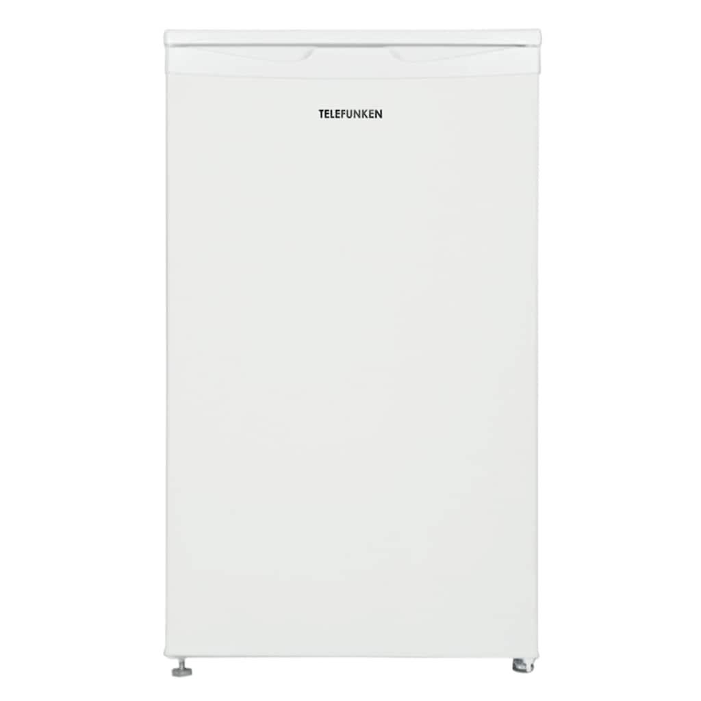 Telefunken Kühlschrank »CF-32-150-W«, CF-32-150-W, 83.8 cm hoch, 48 cm breit, mit Gefrierfach (81 Liter / weiß)