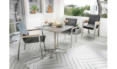 DESTINY Gartensessel »ALTOS«, Stahl/Textil, stapelbar kaufen