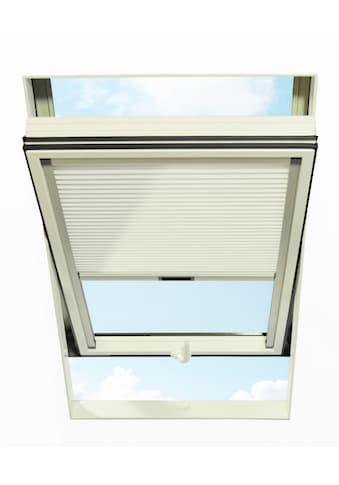 RORO Türen & Fenster Dachfensterplissee, blickdicht, in Führungsschienen, BxH: 65x118 cm kaufen