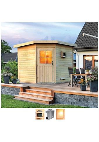 Karibu Saunahaus »Hauke«, 9-kW-Ofen mit ext. Steuerung kaufen