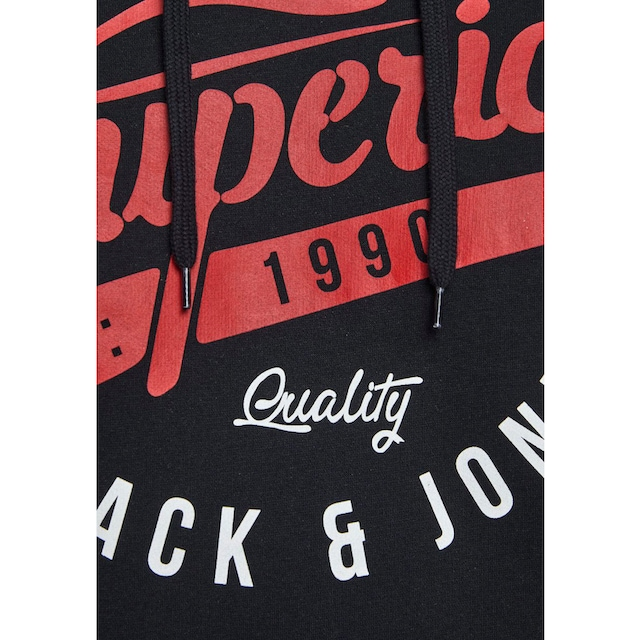 Jack & Jones Kapuzensweatshirt »LOGO SWEAT HOOD«