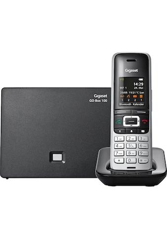 Gigaset Schnurloses DECT-Telefon »S850 A«, (Mobilteile: 1 Bluetooth), Anrufbeantworter, Weckfunktion, Freisprechen kaufen